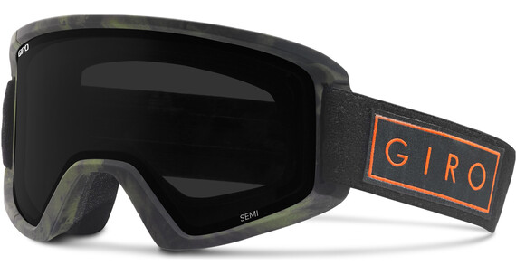 Giro Semi Goggles Riptide w Ultra Black/Yellow